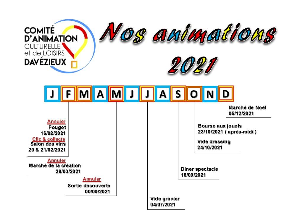 Animations cacl davezieux 2021