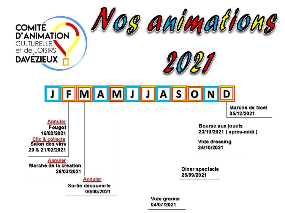 Animations cacl davezieux 2022