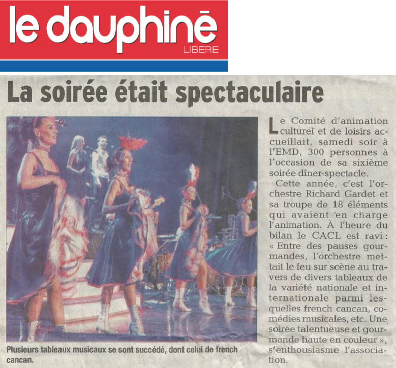 Diner spectacle 2018 le dauphine 3