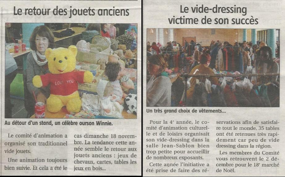 Image bourse aux jouets vide dressing 2018