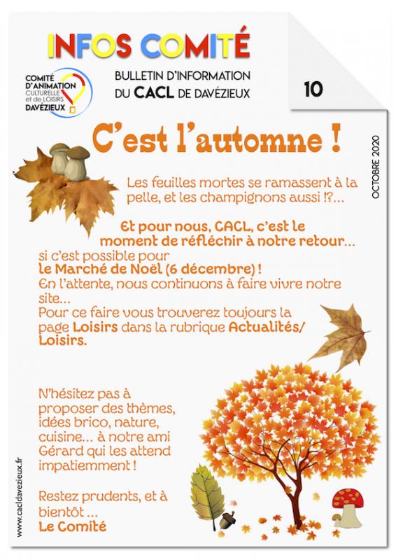 Infos cacl 10