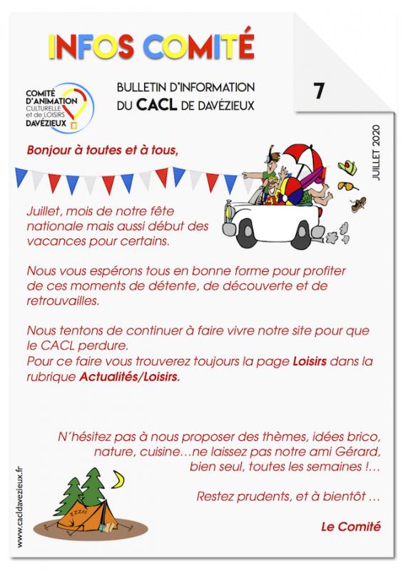 Infos cacl 7