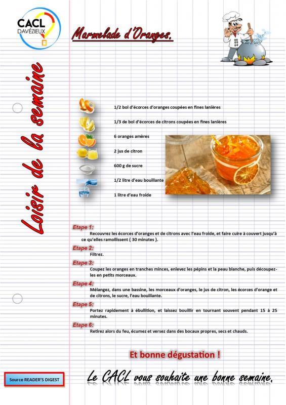 Marmelade d orange